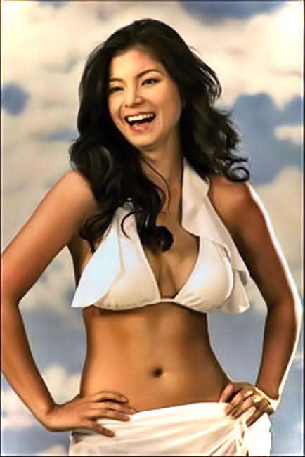 Angel locsin bikini
