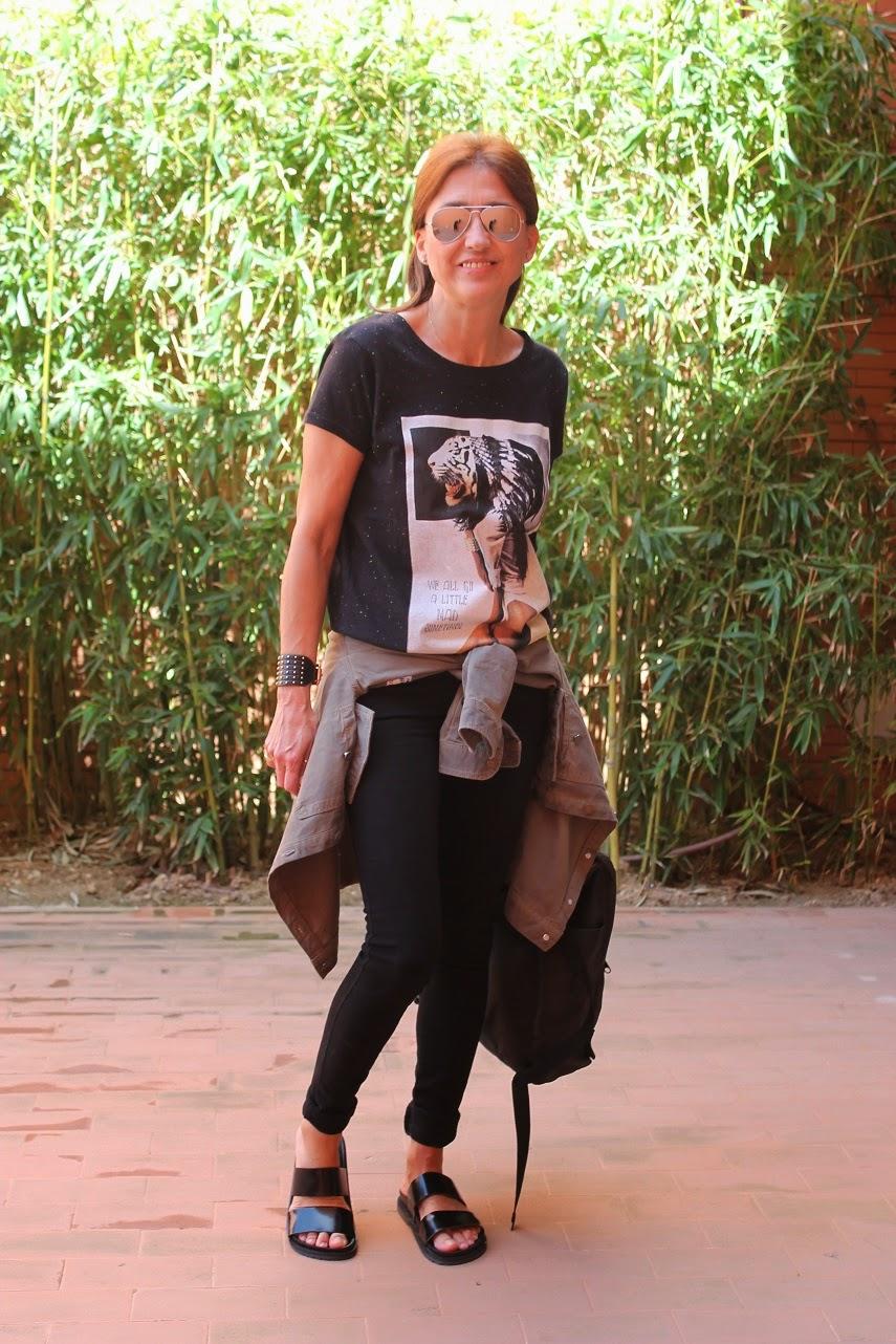 Sandalias Bio, Zara, Look, Street Style, Fashion Blogger, Carmen Hummer Style