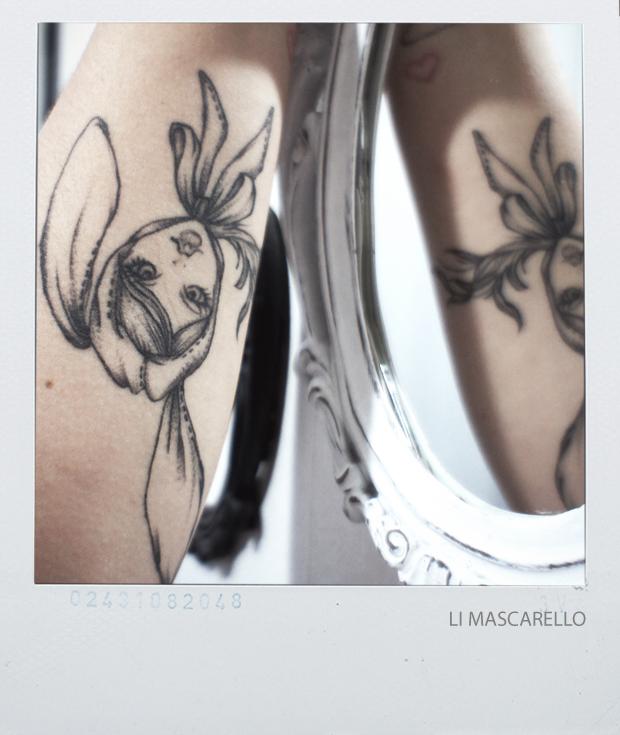 Tatuagem Menina Coelha
