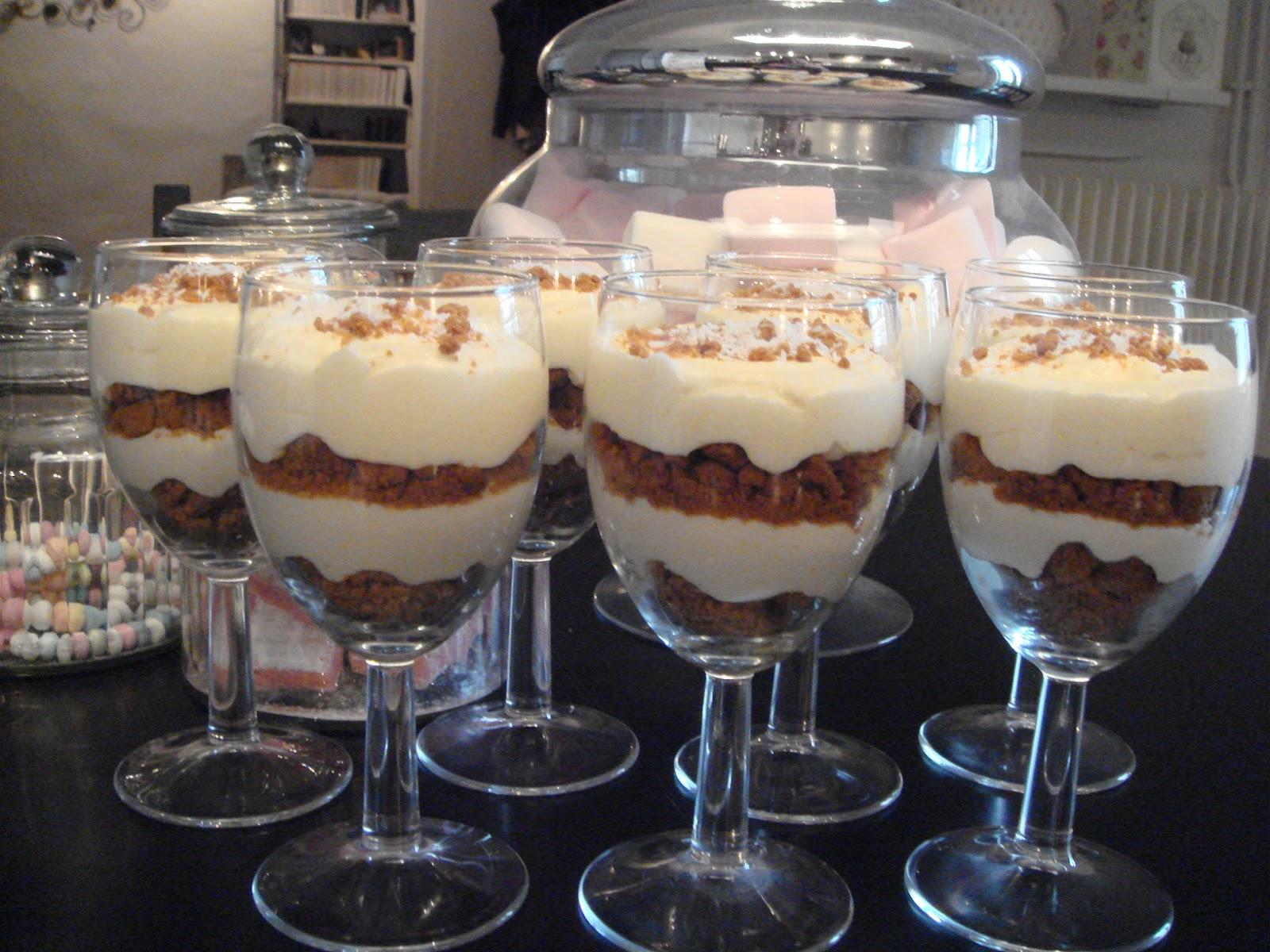 Exceptionnel Les recettes d'Emilie: Verrines à la mousse de noix de coco et  WM14