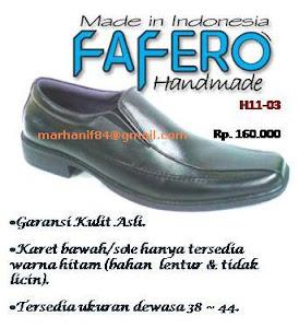 Jual Sepatu Kulit Handmade