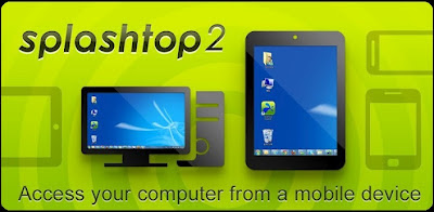 Remote Komputer Dengan PC Tablet Via Splashtop Streamer 2