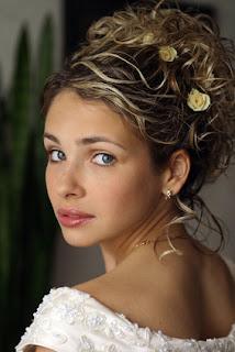 ... wedding hairstyles - 01 - Curly Hairstyles - Curly Hairstyles Gallery