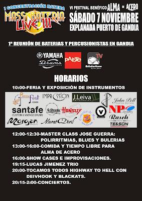 horarios massbateria live3