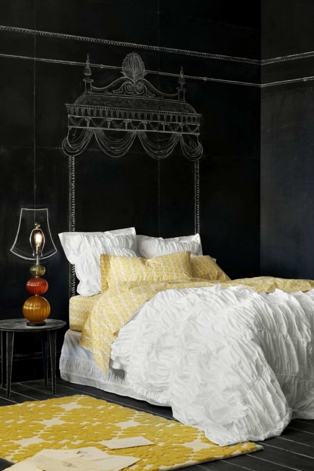 amazing master bedroom chalkboard wall paint ideas