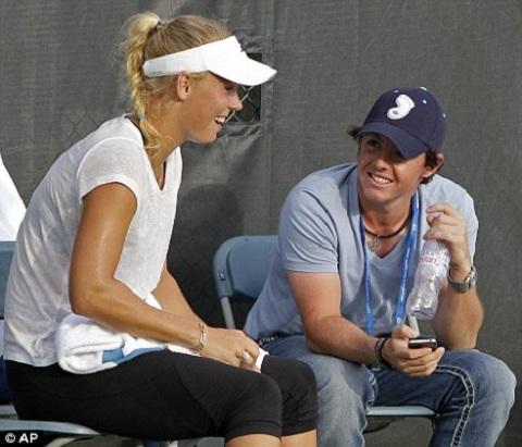 Caroline Wozniacki Rory Mcilroy Kiss Caroline Wozniacki: Ca...