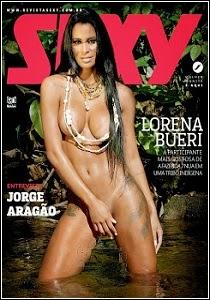 Revista Sexy: Lorena Bueri Fevereiro 2015
