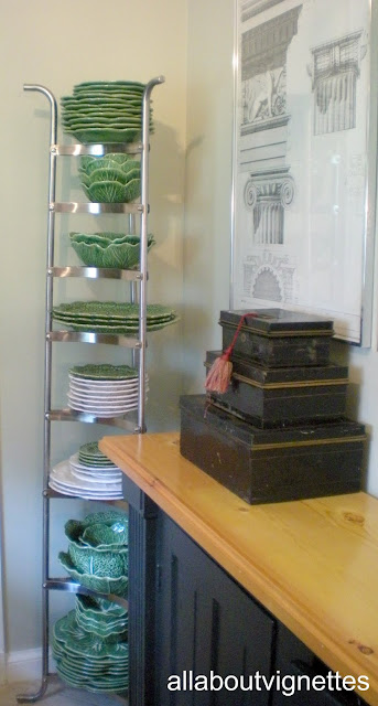 All About Vignettes Vertical Storage