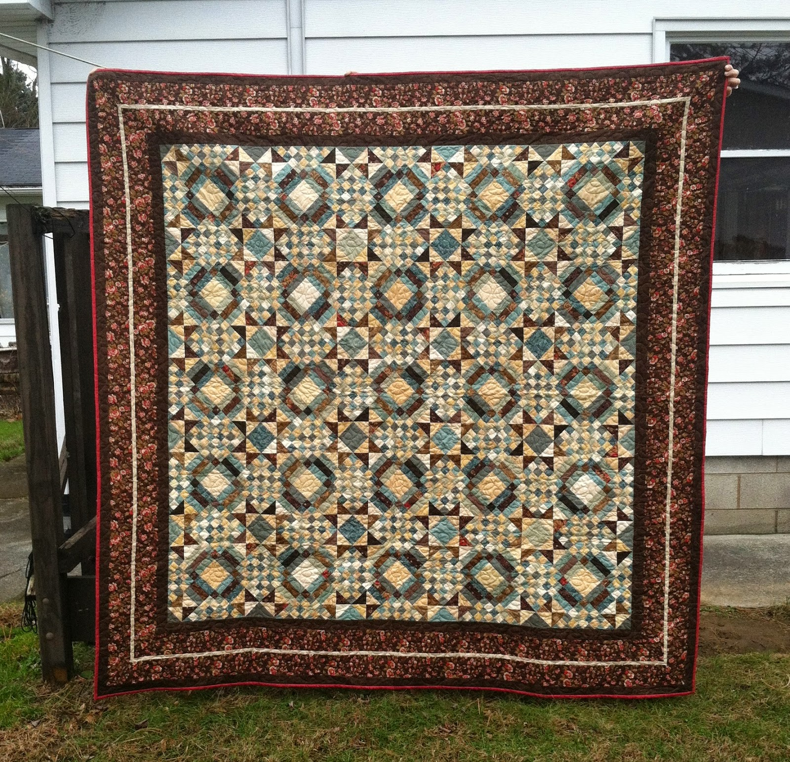 Carolina Crossroads - Bonnie Hunter Mystery Quilt - scrappy quilt