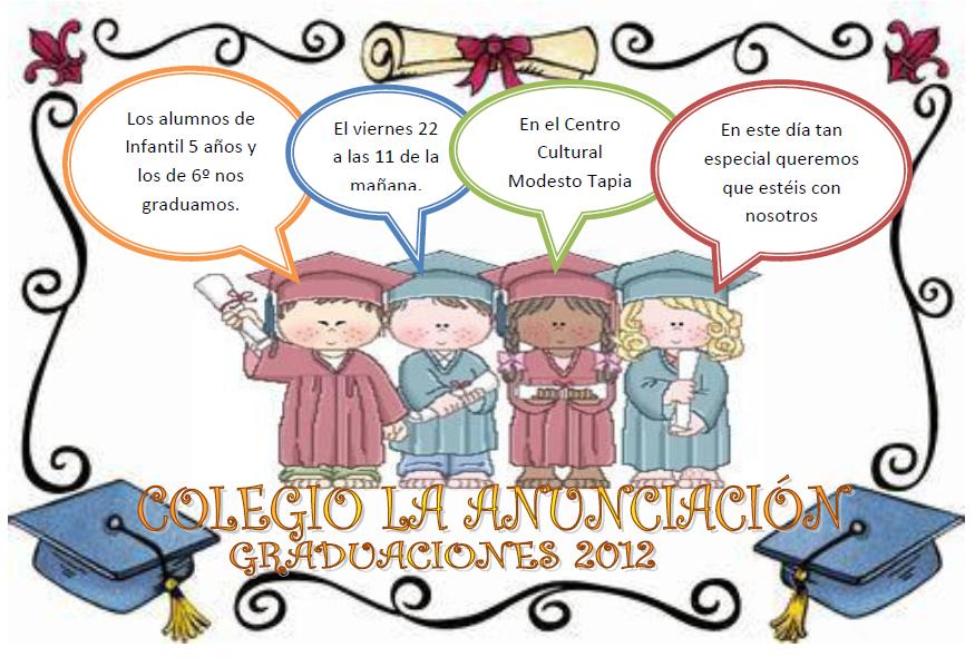 Invitaciones Para Fiesta De Graduacion