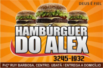 Hambúrguer do Alex
