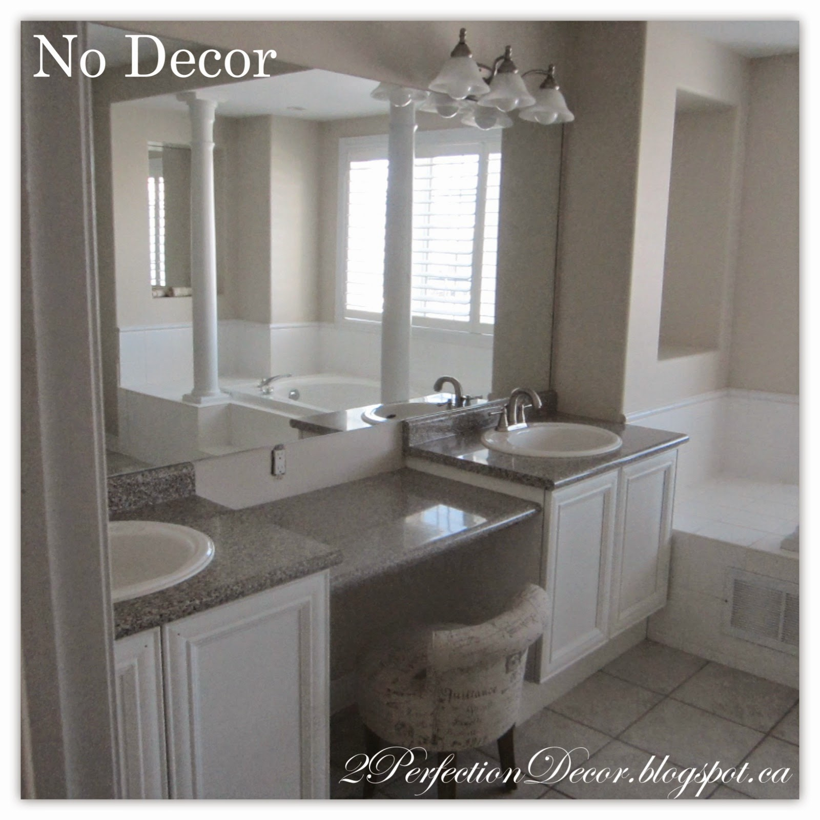 2perfection decor our master ensuite bathroom reveal for Master ensuite bathroom ideas