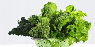 Sayuran Berdaun Hijau Sumber Dari Penyakit