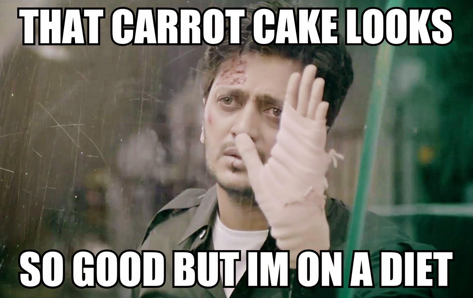 Ritesh Deshmukh Ek Villain Still Angry Cake Bollywood Meme