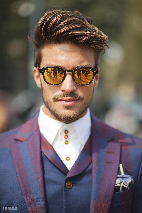 All about hair for men mariano di vaio - Meche homme caramel ...
