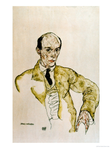 Introduction to schoenberg i verklrte nacht think classical portrait of arnold schoenberg by egon schiele fandeluxe Gallery