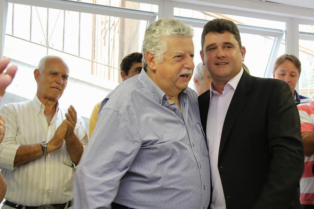 Celso Dalmaso e prefeito Arlei: recuperação de patrimônio público