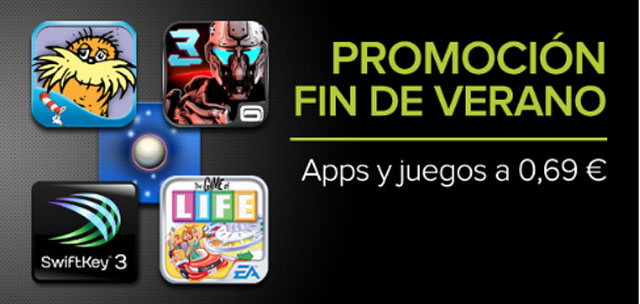 Promocion Google Play fin de verano