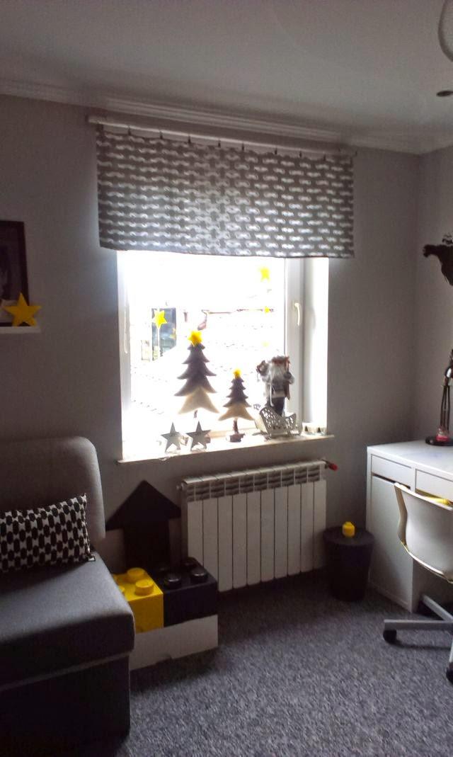 okno dla chłopca, zasłona do chłopięcego pokoju