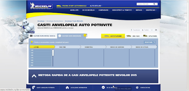 selector Michelin online
