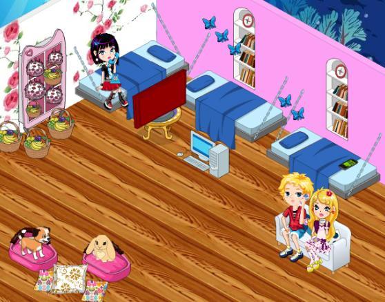 Juego de decorar tu habitacion ~ Vestir chicas y famosas