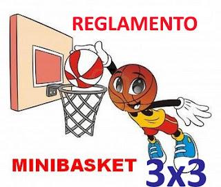 Reglamento de Minibasquet 3x3
