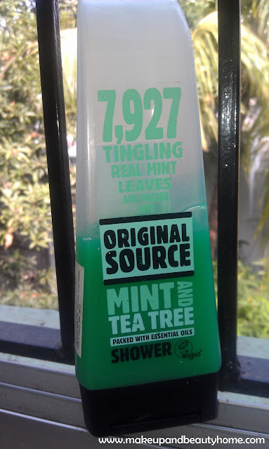 Original Source Mint and Tea Tree Shower Gel Review