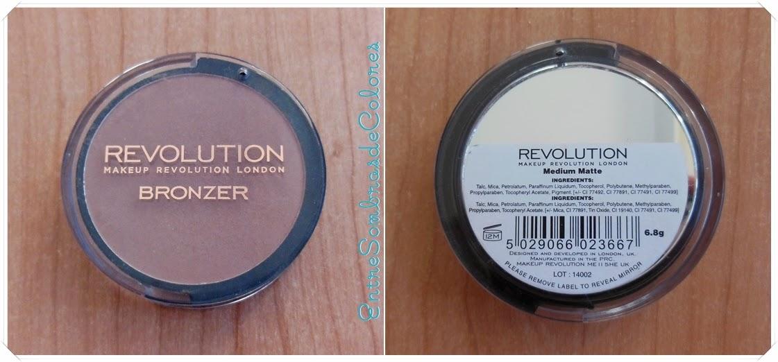 bronceador bronzer Makeup Revolution