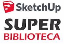 Super Biblioteca Sketchup