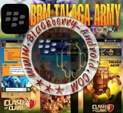 BBM MOD TEMA TALAGA ARMY (COC) NEW V2.8.0.21 APK