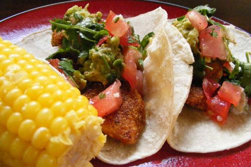 Fried fish taco recipe tilapia for Fried fish taco recipe
