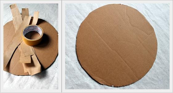 Podkładki na stół z papieru