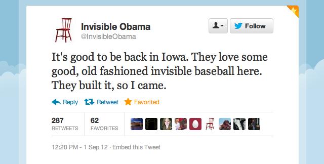 Invisible Obama