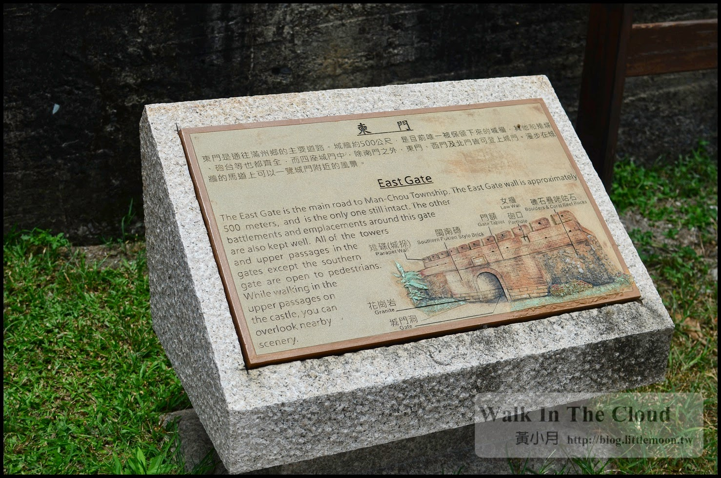 東門城牆的介紹