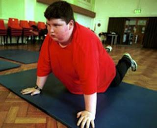 obesidad infantil y actividad fisica