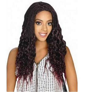 Zury Sis Afro Braid Lace Front Wig Jerry