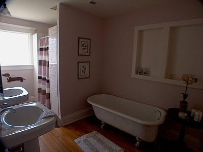 The Green Room Interiors Chattanooga Tn Interior Decorator Designer Wood Floors In The Bathroom
