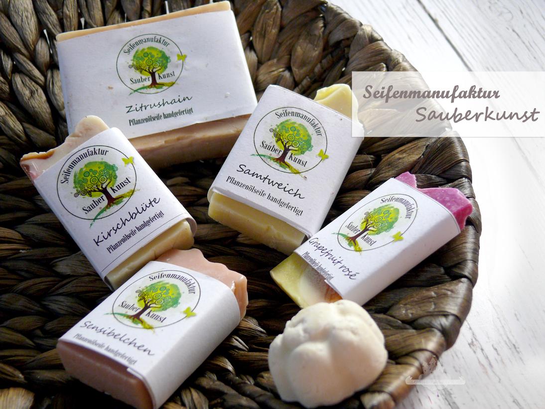 Seifenmanufaktur Sauberkunst - Kleine Kunswerke für Körper und Seele