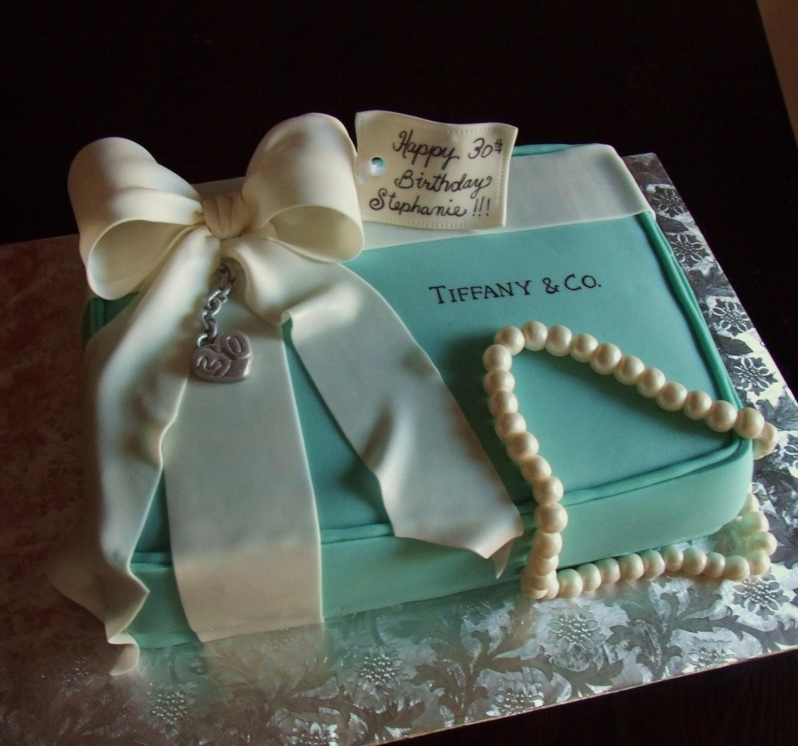 Frog prince Tiffany box cake 2