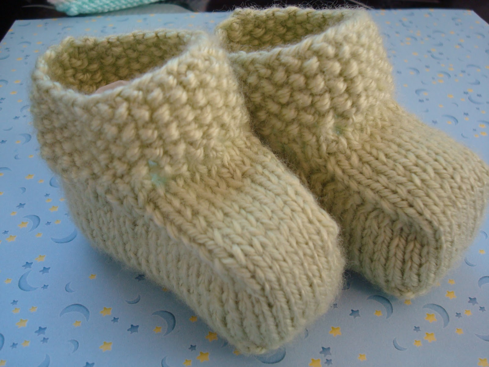 Adrialys Handmade Creations Knitted Baby Shoes