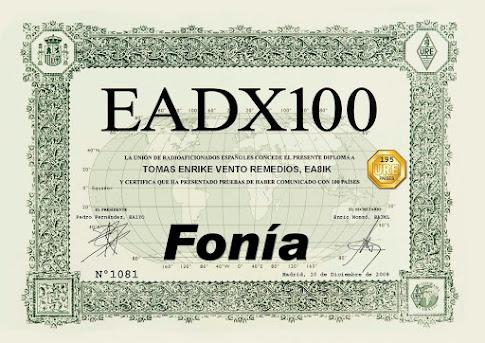Diploma EADX100 Fonía
