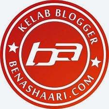 #kelabbloggerbenashaari