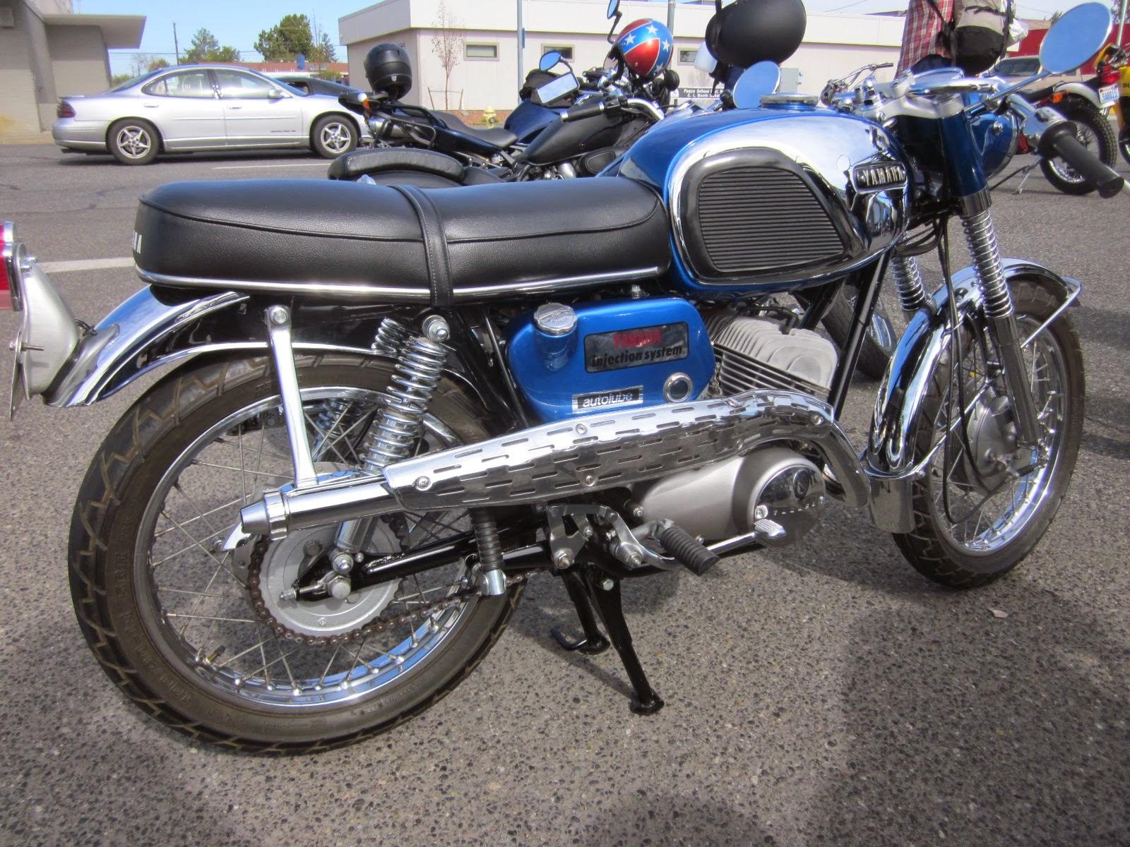 Oldmotodude 1967 Yamaha 305 Twin At The 2014 Retro Riders