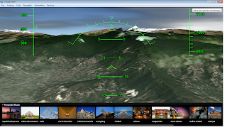 Simolator Penerbangan Google Earth