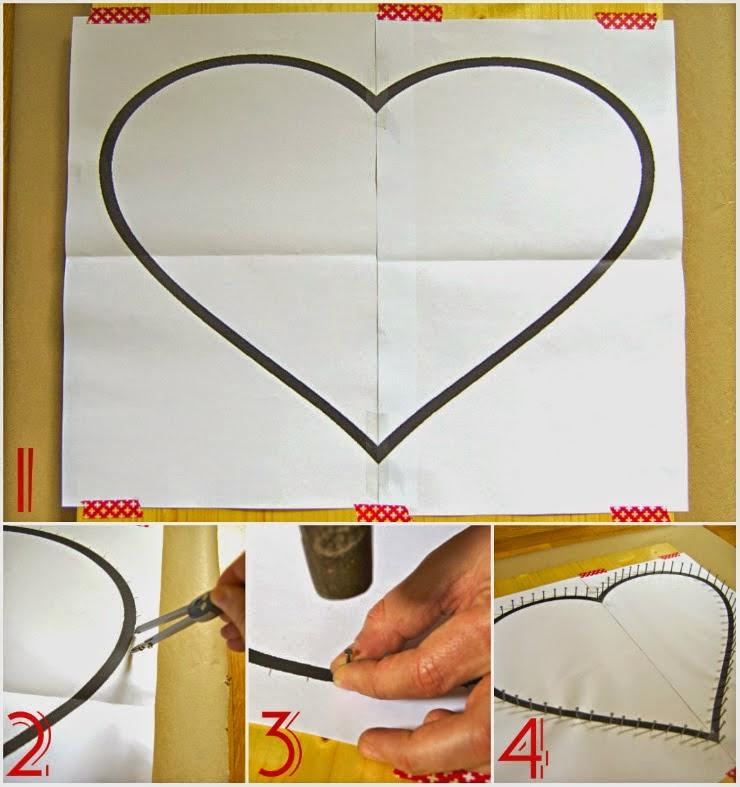 DIY, Cuadro con Corazon 3D para San Valentin