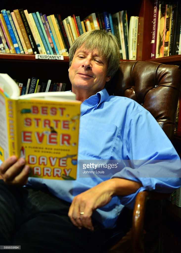 Dave Barry reads and writes books