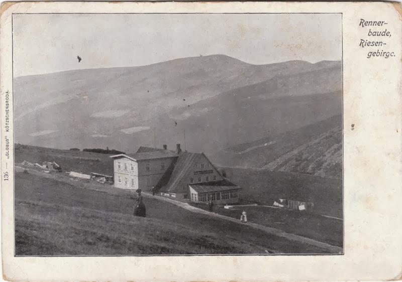 Rennerova bouda a Vysoké kolo na horizontu
