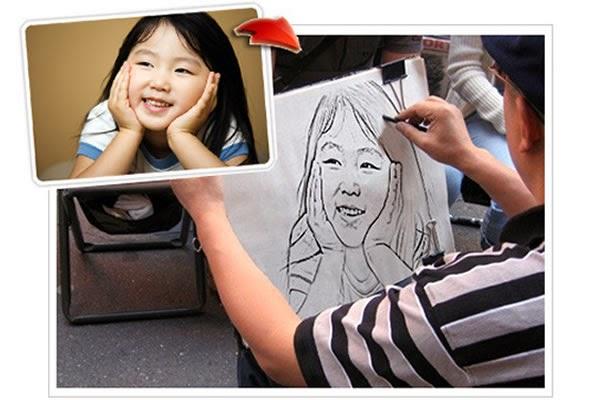 حول صورتك إلى لوحة فنية مرسومة أونلاين