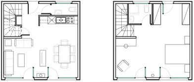 Apartment Floor Plans Autocad