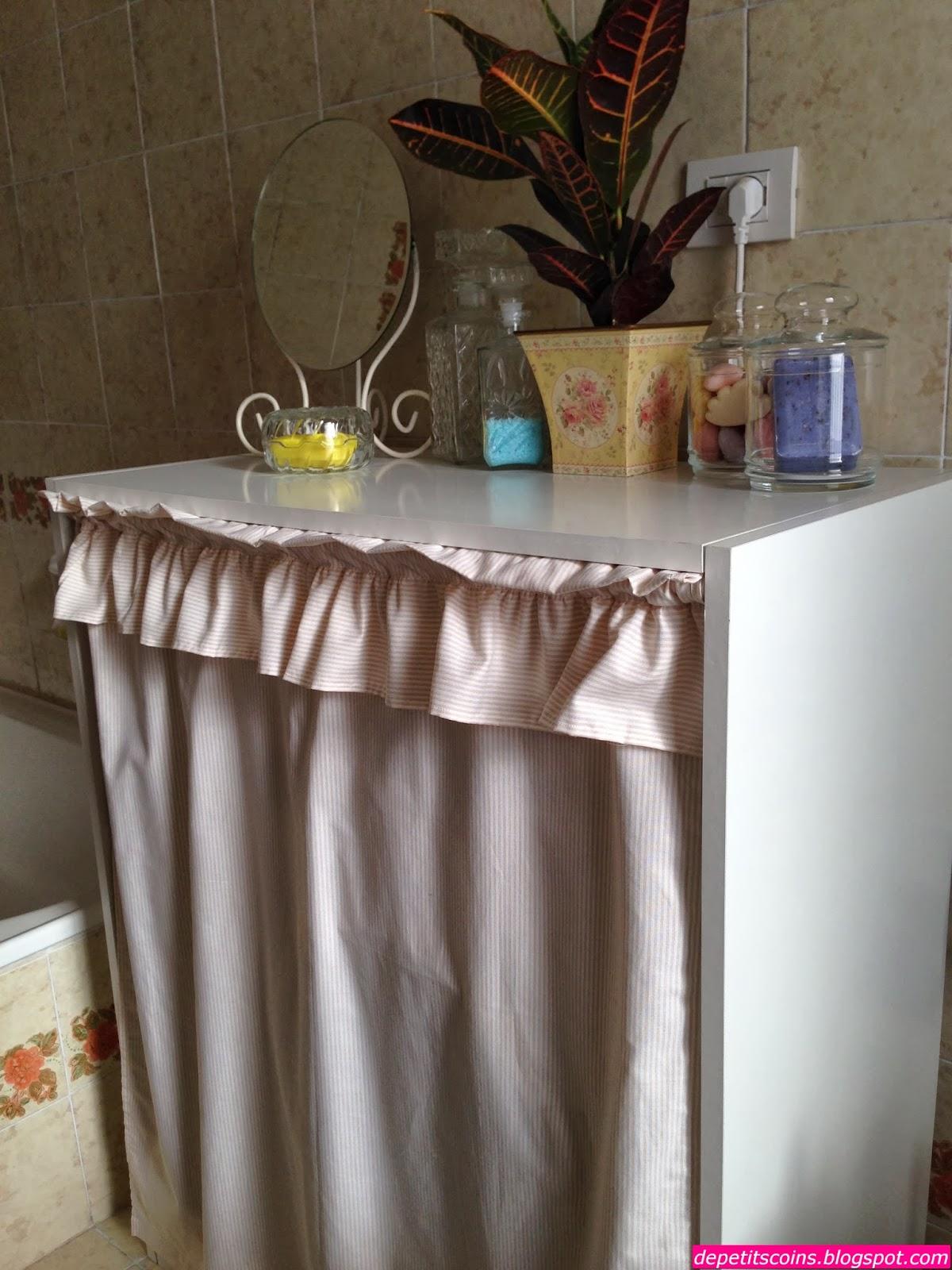 De petits coins mobile copri lavatrice - Sale da bagno fai da te ...